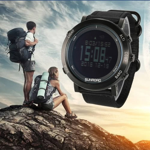 SUNROAD Orologio sportivo digitale outdoor