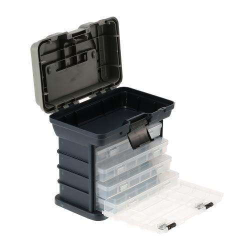 Lixada universale resistente all'acqua scatola di pesca di mare in barca da pesca Tackle Accessory Box Caso Utility Box