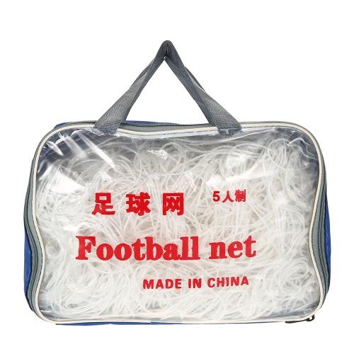 Rete netta di rete di obiettivo di calcio di Goal 5/7/11 del calcio di 2PCS per la rete di obiettivo del calcio di pratica di calcio della partita di addestramento con il sacchetto di trasporto