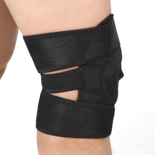 Упругий коленный ремень Поддержка Brace Patella Guard Protector Спортивная обертка для тренажерного зала Бег Бег Туризм