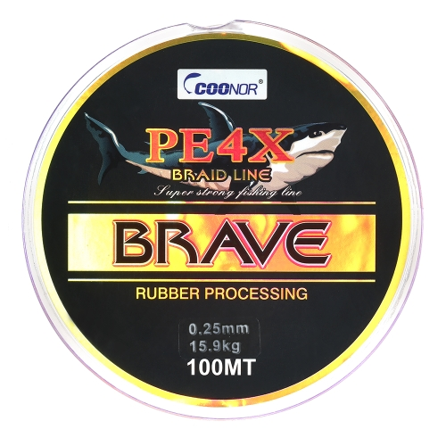 4 Strands 100M Плетеная рыболовная линия Супер мощные рыболовные линии Sea Fishing Thread PE Fishing Line