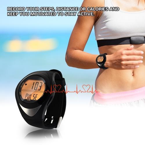 CR891 Activity Fitness Tracker Pulse Reader Watch