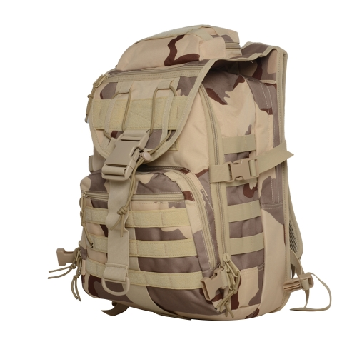 Zaino Outdoor Gear Durable Daypack Pack Borsa di Camouflage di grande capacità Borsa sportiva resistente all'acqua per la caccia Viaggiare Trekking Outdoor Activity