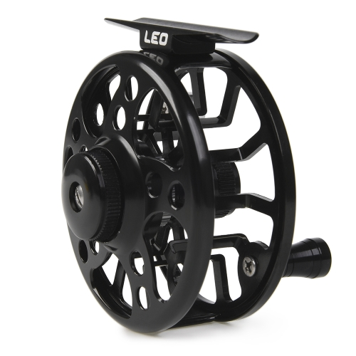 Fly Fishing Reel Aluminum Alloy Fishing Reel 3/4 / 5/6 / 7/8 Weight 2+1 Ball Bearing Left Right Interchangeable Fly Reel
