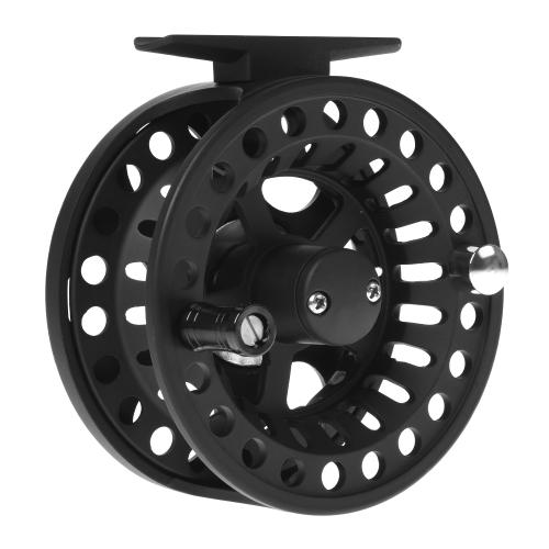 Bobina da pesca in lega di alluminio a bobina da pesca a mosca 3/4 / 5/6 / 7/8 Peso 2 + 1 Cuscinetto a sfere Braccio mosca intercambiabile destro