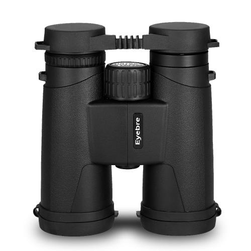 Portátil al aire libre 10X42 binocular óptica multicapa a prueba de niebla Binoculares a prueba de choques telescopio para la caza Senderismo observación de aves