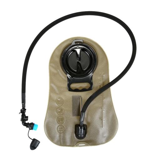 Trinkblase BPA frei FDA zugelassene Tube isolierte große Öffnung Schnellverschluss Wasser Blase für Trinkrucksack