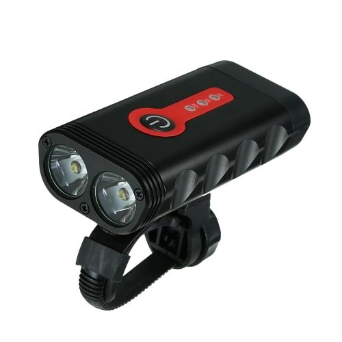 Y10 600LM USB wiederaufladbare Fahrradbeleuchtung
