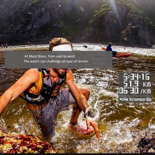 NORTH EDGE X-TREK GPS Digital Sport Watch