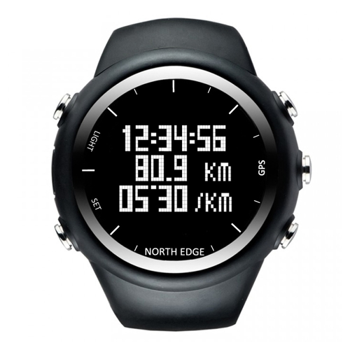 GPS Watch Digital Armbanduhr 50M wasserdicht
