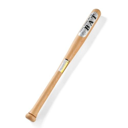 Vara de madeira de mogno dura da barra da madeira maciça do bastão de beisebol de Eucalptus de 64cm