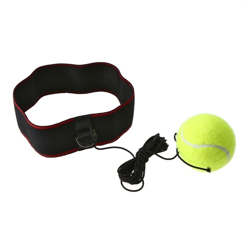 Boxing Reflex Ball Adjustable Headband for Reflex Speed Training Boxing Exercise Training Improve Reactions and Speed Boxing Gym Equipment