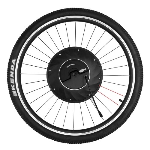 IMORTOR 27.5 pollici Smart Electric Disco anteriore / V freno Bicycle Wheel