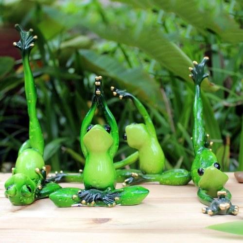 3D Creative Status Funny Interesting Decoration Ornament Green Figurine