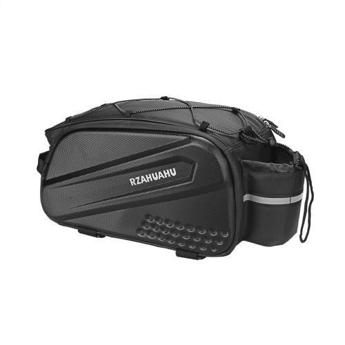Lixada 10L Multifunctional Bicycle Rear Seat Bag Waterproof Cycling Bike Rack Trunk Cargo Bag Pannier Bag Handbag Shoulder Bag