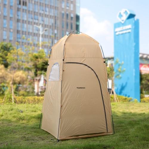 TOMSHOO portatile Doccia esterna Bagno Modifica Camerino riparo della tenda Campeggio Spiaggia privata igienici