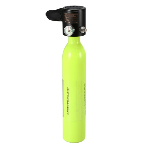 0.5L Scuba Oxygen Cylinder Diving Air Tank Scuba Regulator Diving Respirator