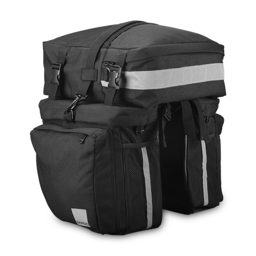3-IN-1 Multi-functional Bike Pannier MTB Road Bike Rear Seat Trunk Bag Image