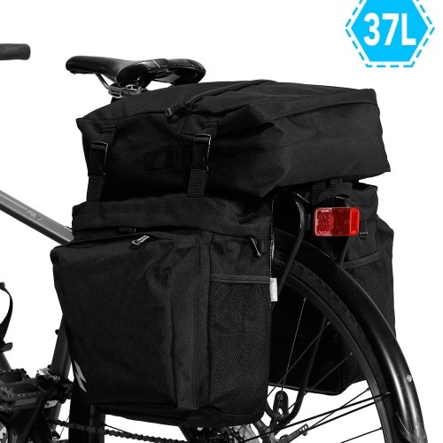 3-IN-1 Multi-functional Bike Pannier MTB Road Bike Rear Seat Trunk Bag