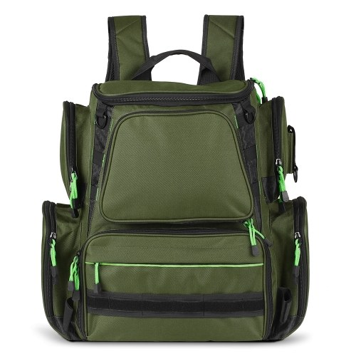 Multifunctional Fishing Tackle Bag Backpack