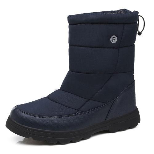 Теплые снежные ботинки фото