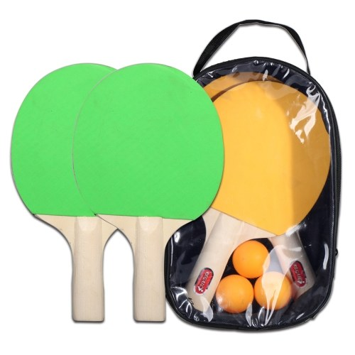 Легкая ракетка для настольного тенниса и набор мячей фото