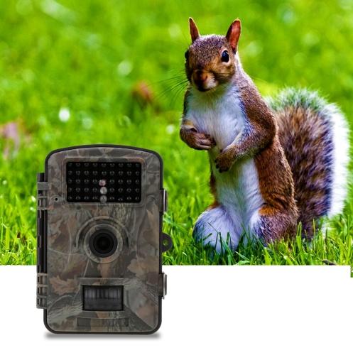 Trail Camera Portable Game Cameras Wildlife Hunting Camera 12MP HD Digital Infrared Scouting Camera 940nm IR LED Night Vision Video Recorder