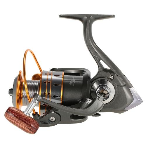 12 + 1 rodamientos de bolas de giro del carrete de pesca izquierda / derecha intercambiable del mango de alta velocidad de los pescados Carrete