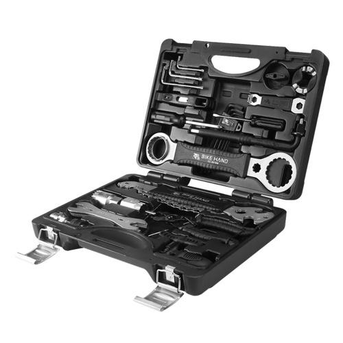 Bicycle Toolbox Set Mountain Bike Repairing Kit Riding Equipment Accessories Bicycle Service Tool Kit