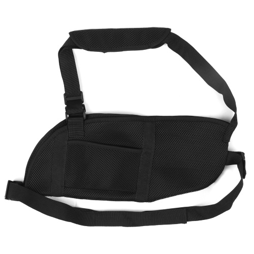 Adjustable Breathable Arm Sling with Waist Strap Lightweight Arm Wrist Fracture Support Strap Elbow Mesh Shoulder Protector Shoulder Injury Fixation Belt Padded for Left Right Elbow Dislocation and Sprain
