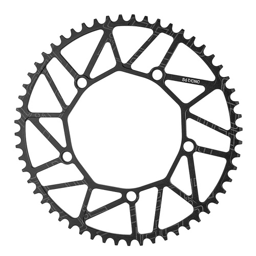 130BCD Bike Chain Wheel 50T/52T/54T/56T/58T Ultralight Aluminum Alloy Bicycle Chainring Chainwheel Image