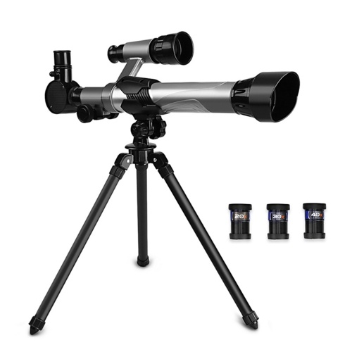 Kids Telescopes Educational Science Astronomy Telescope for Children Beginners Astronomy Telescope with Tripod Eyepieces Compass Finderscope