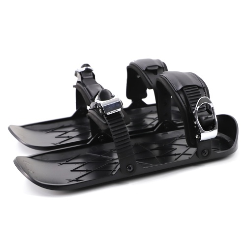 Mini Ski Skates Schneeschuhe Schuhe für Snow Short Ski Board Single Sled Winter Outdoor Sport
