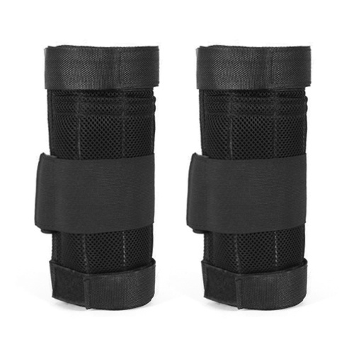 2 Packs Max Loading 16kg Adjustable Ankle Weighted Exercise Leg Weighted Workout Weight Loading Wraps Strength Training (Empty)