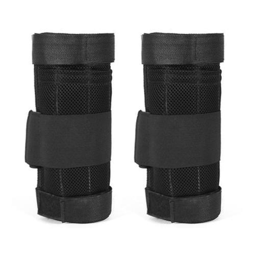 2 paquetes de carga máxima de 16 kg Ajustable con peso en el tobillo Ejercicio con peso en la pierna Entrenamiento con peso Envolturas de carga Entrenamiento de fuerza (vacío)