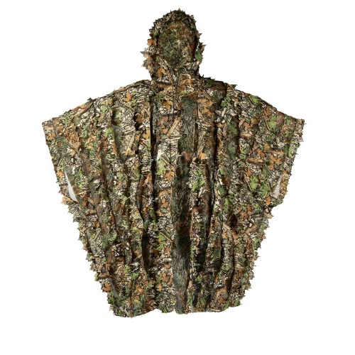 Ghillie grüner Poncho Jagd Camo Camouflage Solid Mesh 3D