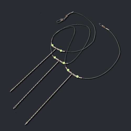 High Quality Steel Fishing Hooks String 17cm Durable Fishing String Hooks Fishing Tackle