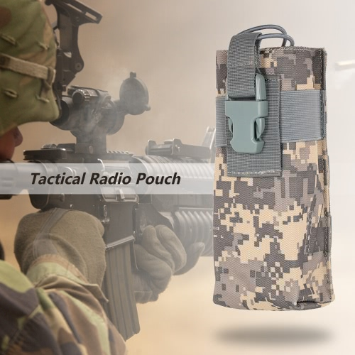 Tactical citofono Radio Pouch Custodia Intercom Accessary tasca utility attrezzo esterno facendo un'escursione scalata