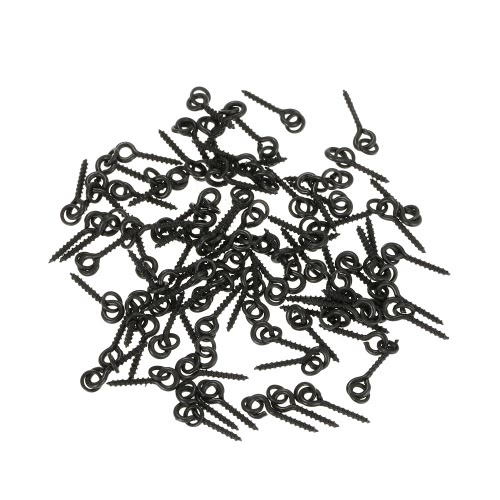 Viti 100Pcs filettato Boilie esca per Carp capelli Rigs Ganci Carp Fishing Terminal Tackle