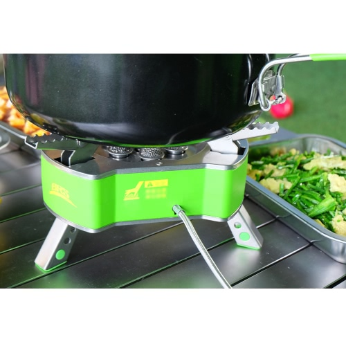 Портативный Открытый кемпинга Печь Туризм альпинизмом пикника Посуда Приготовление пищи Инструмент