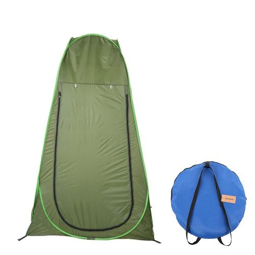 Docooler Портативный Pop Up Палатка Конфиденциальность Открытый палатки Подвижные раздевалка Место для кемпинга Комната Рыбалка Купание Душ Туалет