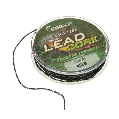 Leadcore Braided Camouflage Carp Fishing Line