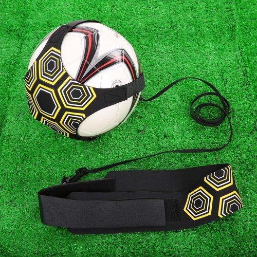 Lixada Solo Soccer Trainer Soccer Ball Kick Training Practice Assistance Trainer Adjustable Belt