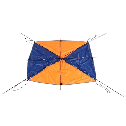 4 человек Надувная лодка ВС Укрытие Парусник маркизы Верхняя крышка Рыбалка Палатка ВС Shade дождь Навес для Seahawk Надувной Каяк Каноэ Лодка Top Kit с Hardware