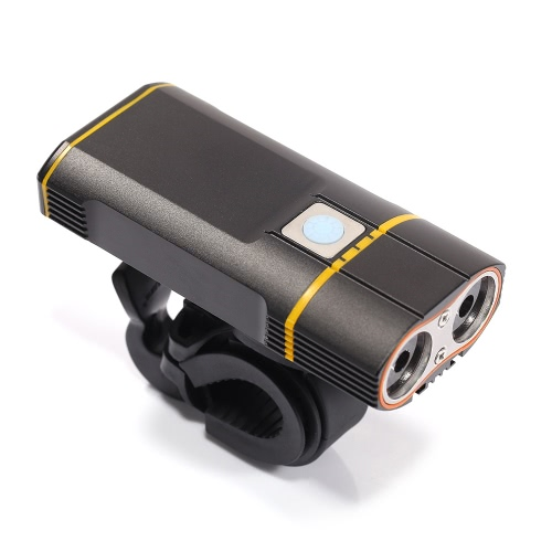 Super Bright Bicycle Light USB Rechargeable 800 Lumens Headlight Front Light Easy Installation Cycling Flashlight Image