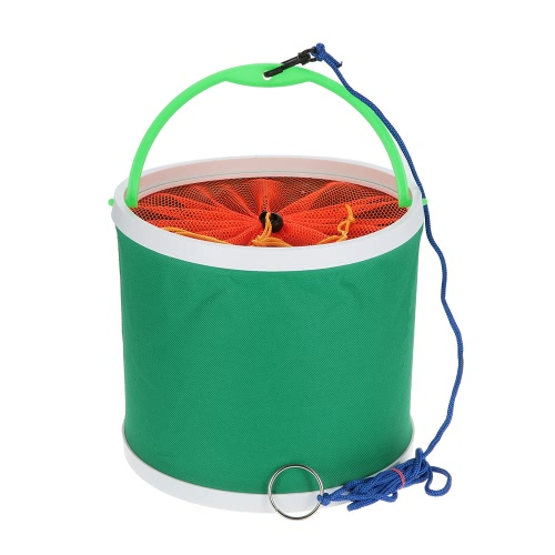 Outdoor Oxford Cloth Benna pieghevole Bucket Portatile Camping Escursioni Pesca Bench Pesca Attrezzi Tackle