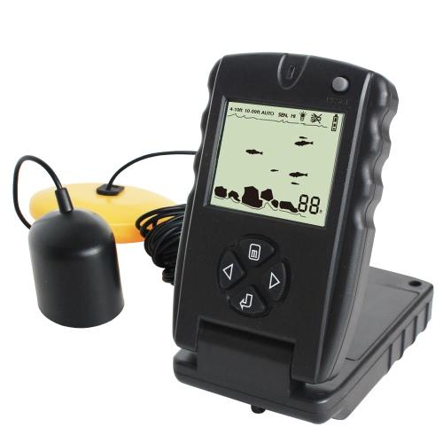 LUCKY 100FT Проводной детектор для обнаружения рыбных искателей Портативный эхолот для эхолота