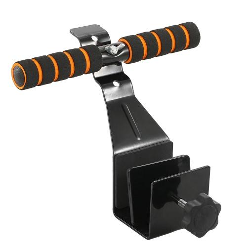Регулируемый дверной проем Сидеть вверх Портативный сит-бар-бар Упражнение Инструмент Sit-up Bar для фитнес-тренировки Упражнение Спорт