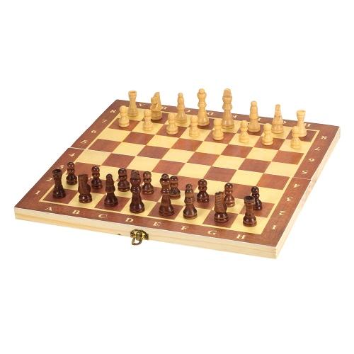 Hölzernes internationales Schach