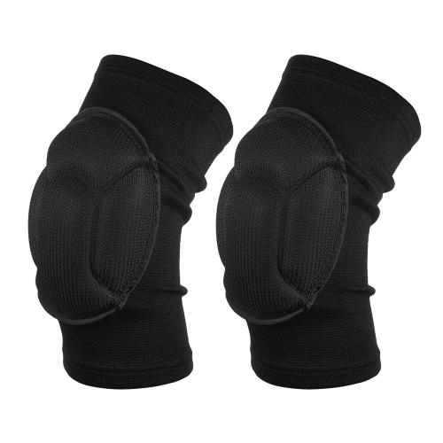 2 STÜCKE Knie Klammer Knie Sleeve Volleyball Knie Pad Unterstützung Schutz Protector Bein Unterstützung Sport Snowboard Knie Kompression Sleeve Pad